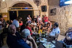 Ghana at Fifu Bar, Zejtun. Photo credit: Joe Smith
